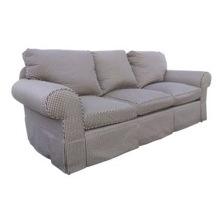 Glabman Furniture Plaid 3 Seater Sofa