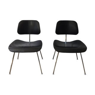 Original Eames Molded Plywood Chairs - Pair