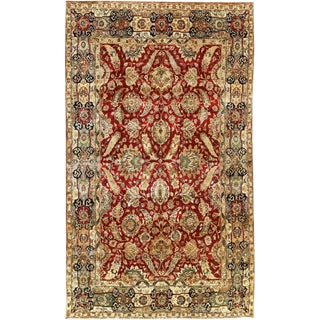 "Traditional Persian Hand Woven Wool Rug - 8'11"" X 15'1"""