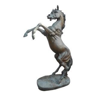 A.J. John Bronze Horse Statue