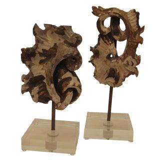 18th C. Portuguese Architectural Fragments - Pair