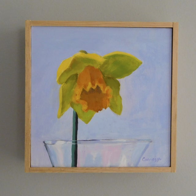 Anne Carrozza Remick Daffodil Painting - Image 3 of 5
