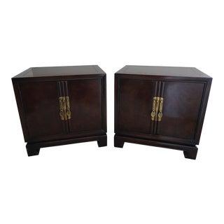 Drexel Heritage Mid-Century Modern Nightstands - A Pair