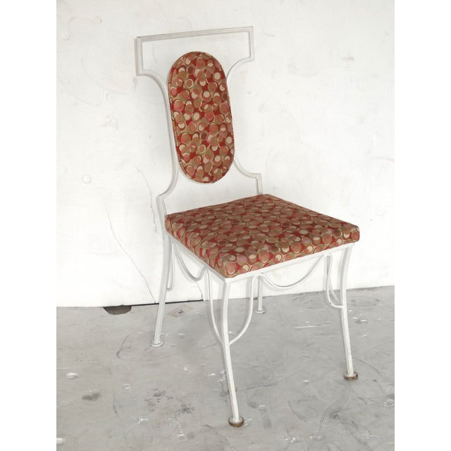 Mid-Century Modern Metal Chairs - Set of 4 - Image 4 of 8