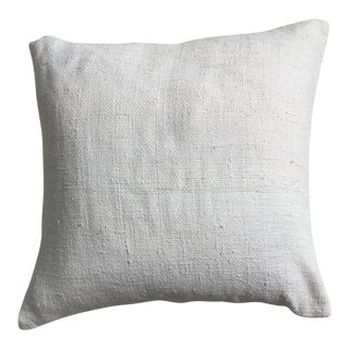West Elm Ivory Throw Pillow