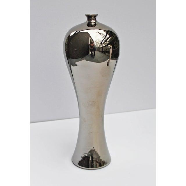 Bungalow 5 Baluster Metallic Vases - Pair - Image 4 of 8