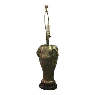 Elephant Metal Table Lamp