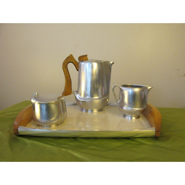 Mid-Century English Coffee Set by Picquot Ware - Image 2 of 9