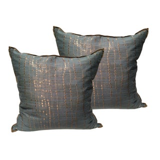 Luxe Designer Pillows - a Pair