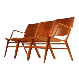 Rare old stock Peter Hvidt AX three seater sofa