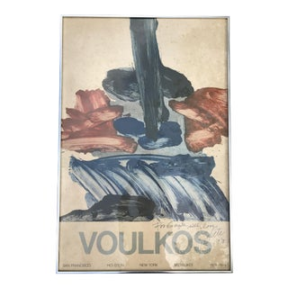 Signed Peter Volkous Poster
