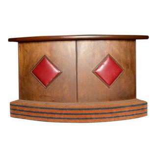 Freestanding Mid-Century Modern Bar