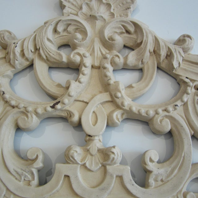 Rococo Heavily Patinated Mirror - Image 5 of 8