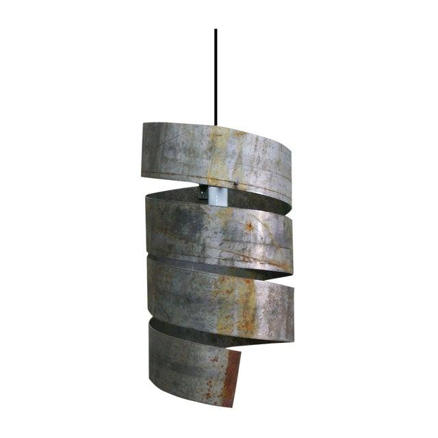 Industrial Spiral Pendant Light - Image 1 of 1
