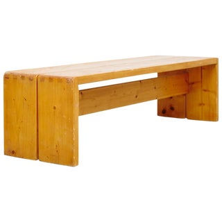 Set of Twenty Charlotte Perriand Benches for Les Arcs