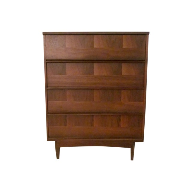 Mid-Century Modern Highboy Dresser - Image 1 of 7