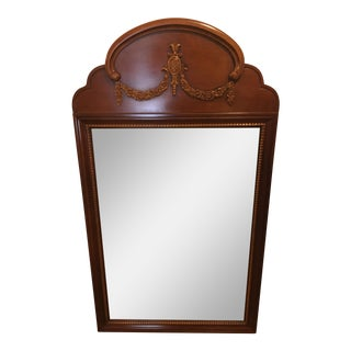 Cherry Wood Lexington Console Mirror