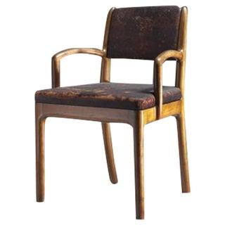Devon Dennett Unique American Craftsman Armchair, 1938
