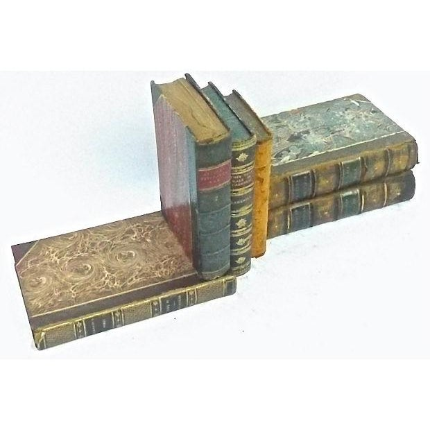 Antique Leather Bound Books - Set of 6 - Image 3 of 3