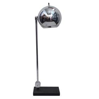 Robert Sonneman Chrome Ball Desk Lamp