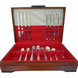 1940's Silver Plate Flatware - Set of 8