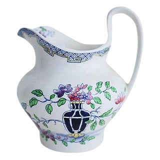 Antique Minton's Floral Jug