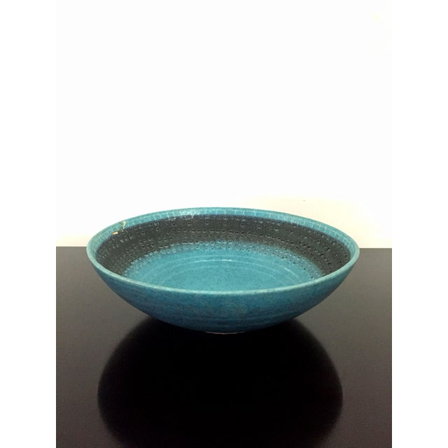 Vintage Italian Raymor Bitossi Pottery Bowl - Image 2 of 6