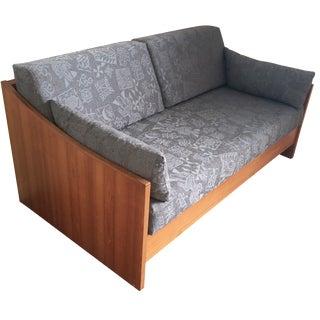 Wrap-Around Teak Day Bed