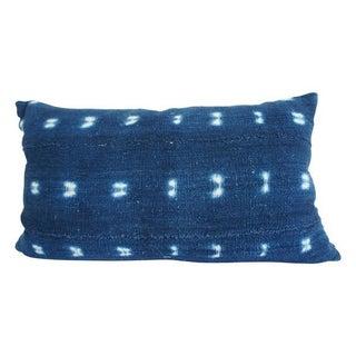 African Indigo Lumbar Pillow