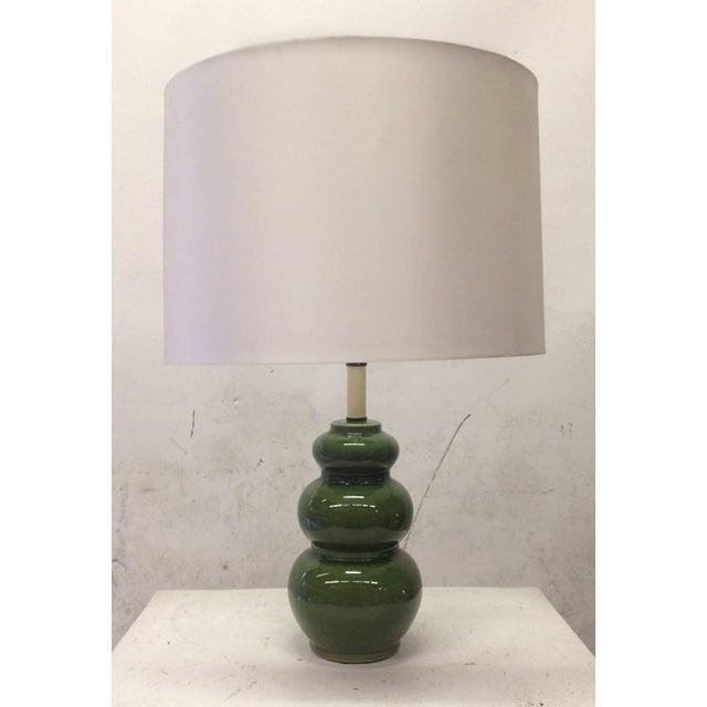 Image of 1960's Mid-Century Modern Ceramic Lamps - Pair