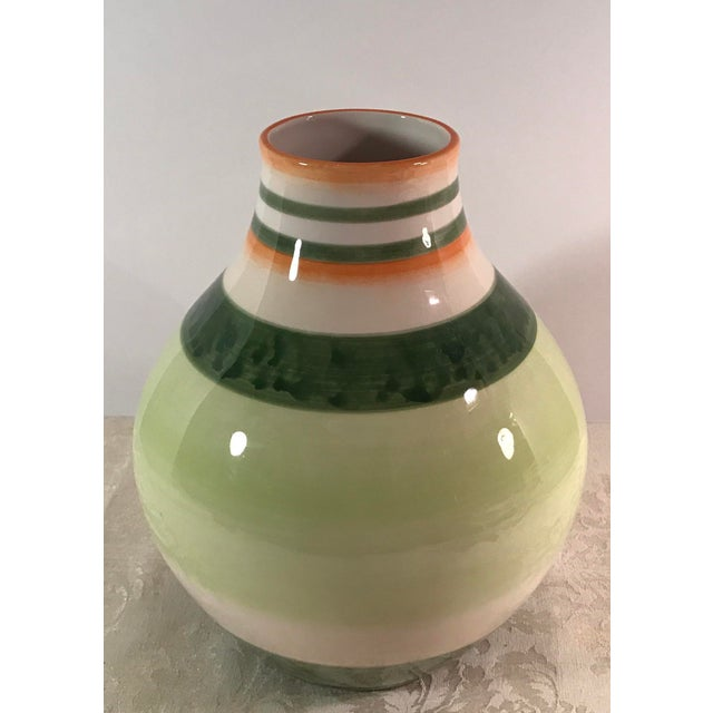 Fitz & Floyd Ceramic Vase - Image 3 of 7