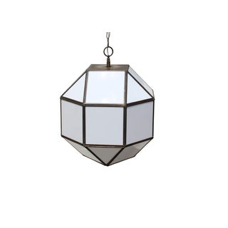 Vintage Geodesic Light Fixture