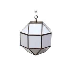 Vintage Geodesic Light Fixture