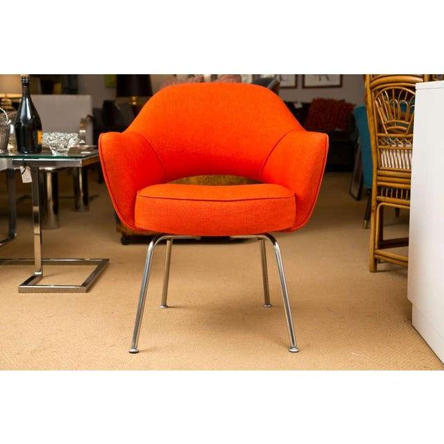 Mid-Century 1960s Set of Six Saarinen Executive Lounge Chairs - Image 2 of 8