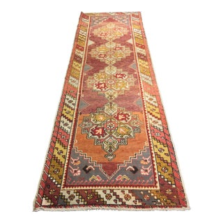 "Bellwether Rugs Vintage Turkish Oushak Runner - 3'1"" X 10'2"""