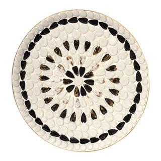 Black & White Ceramic Mosaic Tray