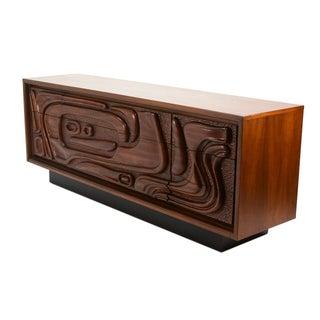 Sculptural Oceanic Tiki Dresser