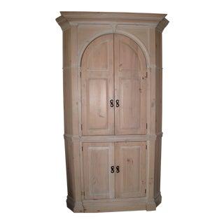Habersham Corner Cabinet Armoire