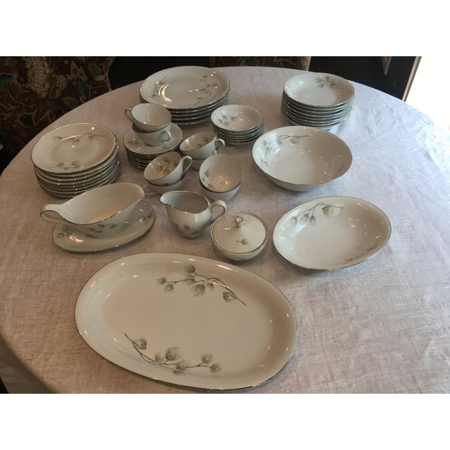 Set of Bavarian Western Germany Pine Bough Dishes - Image 2 of 7