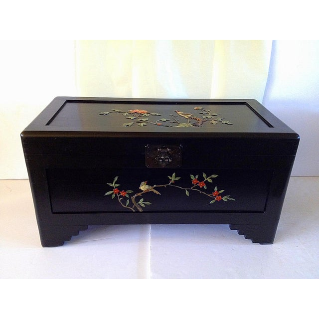Chinese Chest With Stone Inlay - Image 2 of 11