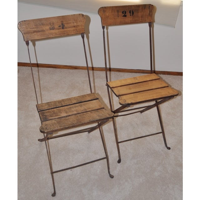 French Campaign/Garden Chairs C.1890's - Pair - Image 5 of 6