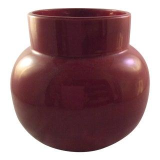 Myatt & Co. Oxblood Red Pot