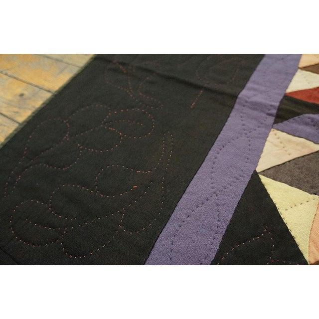 Americana Geometric Quilt - Image 4 of 4