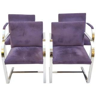 Vintage Brno Flat Bar Chairs - Set of 4