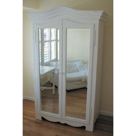Grande French Mirrored Armoire - Image 2 of 3