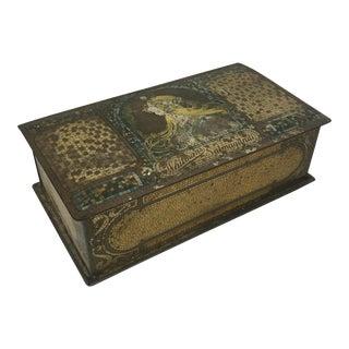 1920's Whitman's Salmagundi Tin Chocolate Box