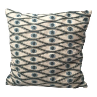 Seeing Eye Throw Pillow