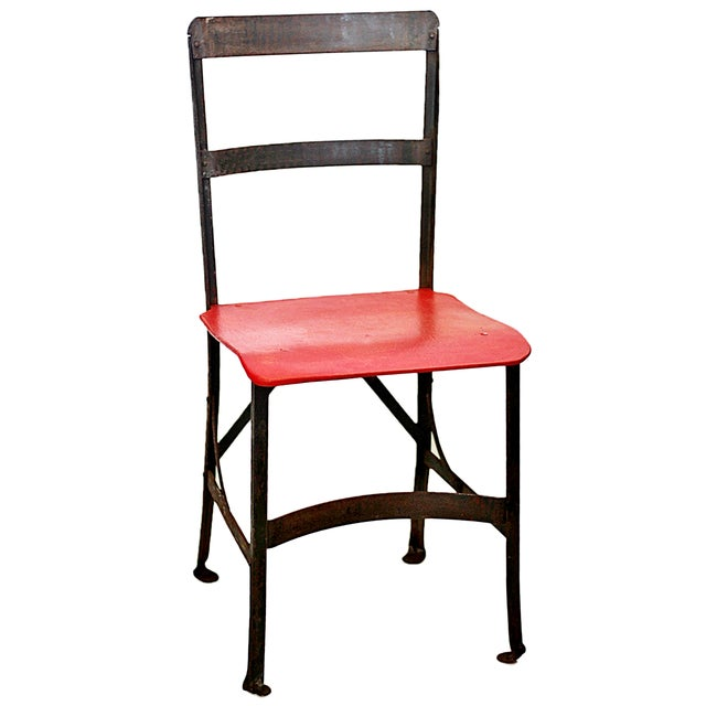 Image of Vintage Child's School Chair, Heywood Wakefield