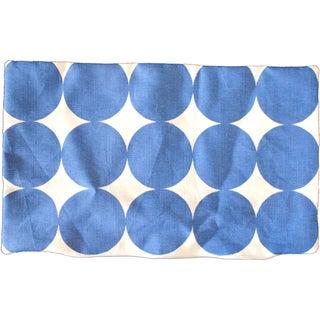 Blue Dot Lumbar Pillow