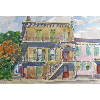 Savannah, Georgia Watercolor by Paul Parker